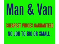 Man and van & waste removal