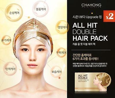 CHAHONG All Hit Hair Pack 40gx1pcs Hair MaskHair Essence Hair Nutrition Korea