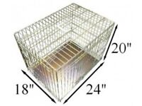 NEW Gold Ellie-Bo Puppy / Small Dog Cage Crate