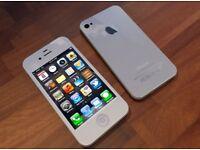 Cheap I phone 4S white 16GB £45