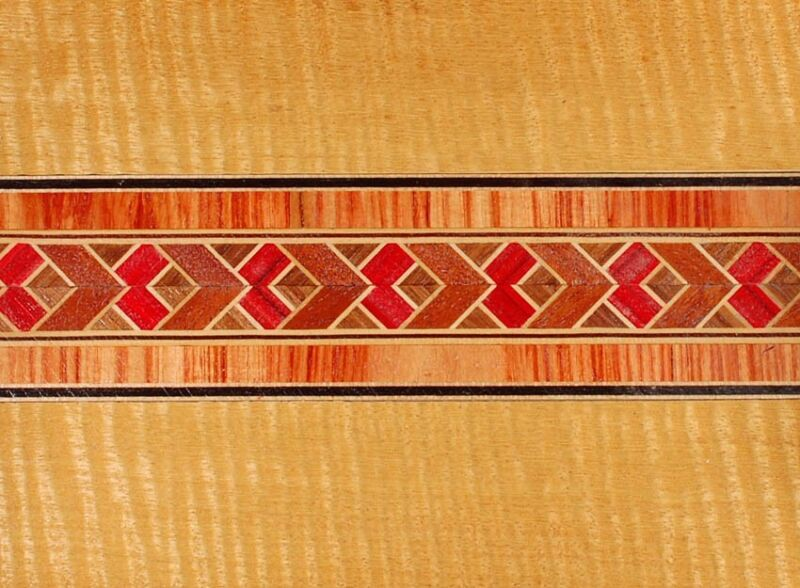 Incredible Rarely Seen  Buffard Frères Marquetry Banding Strips (Inlay-54)