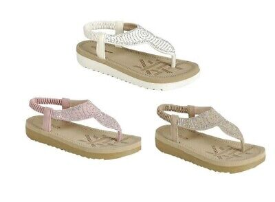 On sale girls youth beads flats jewelry shoes gladiator elastic slip on sandals - Girls On Sale