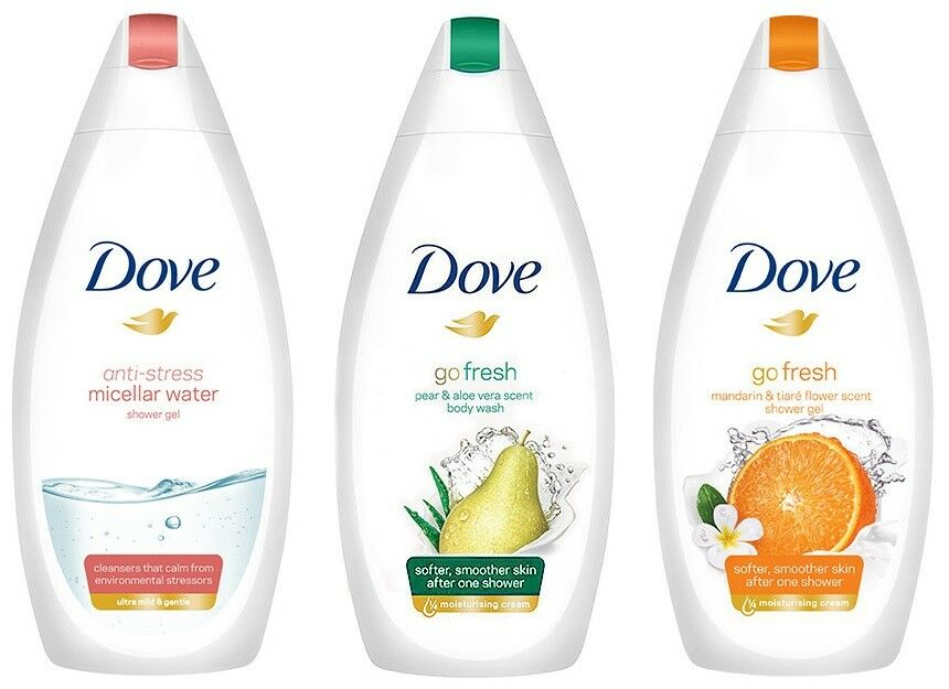 DOVE ANTI-STRESS NOURISHING SILK SENSITIVE ALOE VERA DUSCHGEL SHOWER GEL 500 ML
