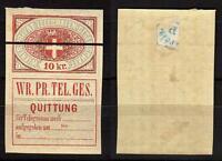 234 - Austria - 10 Kreuzer Per Telegrafi, 1870 - Linguellato ( Mh) -  - ebay.it