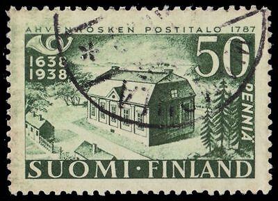 FINLAND 215 (Mi213) - Finnish Postal System 300th Anniversary (pa7313)