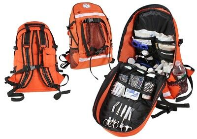 Orange First Aid Emt Ems Trauma Backpack Medical Equipment Bag