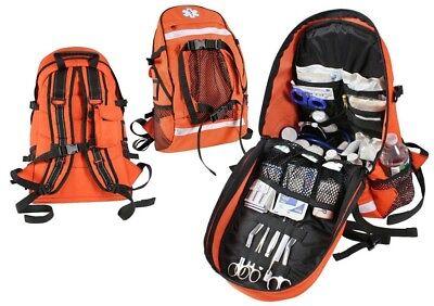 Orange First Aid Emt Ems Trauma Backpack Medical Equipment Bag