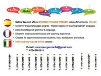 Languages Course SPANISH / ITALIAN / FRENCH. Special offer!