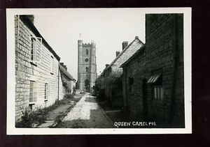 Somerset-QUEEN-CAMEL-St-Barnabas-Church-early-RP-PPC
