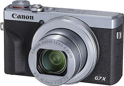Canon PowerShot G7 X Mark III- Silver