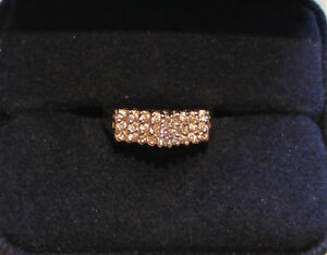 NEW PRICE SHOWCASE DIAMOND RING - 27 DIAMONDS