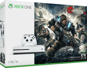NEW XBOX ONE S 1TB GEARS OF WAR 4 BUNDLE SEALED UNOPENED NEW