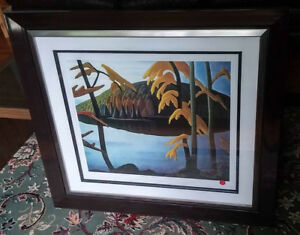 Lawren Harris original numbered lithograph-2 numerote originels