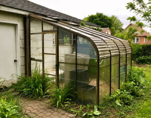 Large Glass Greenhouse