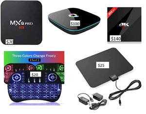 Android boxes(loaded) local, best price and expert service