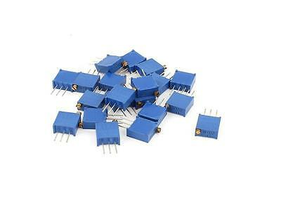 10pcs 3296w-102 3296 W 1k Ohm Trim Pot Trimmer Potentiometer Usefu Wd