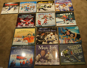 Mike Leonetti Hardcover Hockey Lot 13 books - BRAND NEW