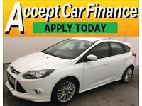 Ford Focus 1.6TDCi ( 115ps ) 1560cc 2014MY Zetec S FROM £46 PER WEEK!