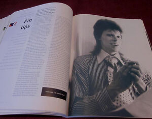 DAVID BOWIE - CHANGES 1970-1980 Book *Out of Print* 30 yrs Old Kitchener / Waterloo Kitchener Area image 2