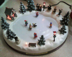 Christmas decoration - Electrically Powered skating Rink  - $50.