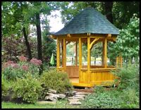 Gazebos and sheds