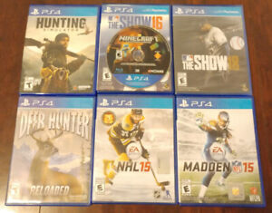 Set of PS4 Games For Sale (New & Used)