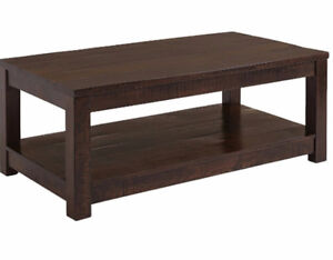 Looking for a coffee table or short wooden TV stand
