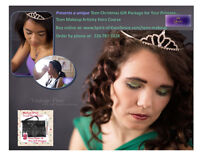 Unique Gift Teen Makeup Artistry Lesson Christmas Package