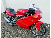 DUCATI 750SS SUPERSPORT - LAST OF THE CLASSIC BEST + JUST 11,000 MILES - MAY PX