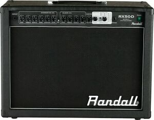 randall rx50d guitar amp with built in effects 50watts rms