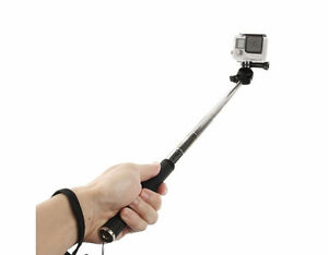 Selfie stick/monopod for Gopro Hero & Sony Action cams