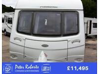 Coachman Pastiche 560, 2011, special edition 4 berth quality touring caravan