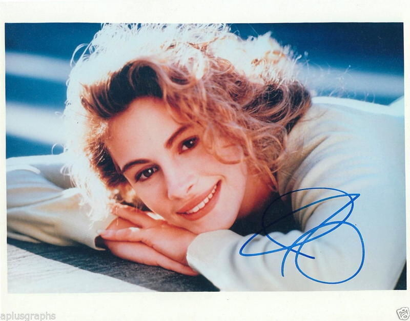 JULIA ROBERTS.. Steel Magnolias' Beauty - SIGNED