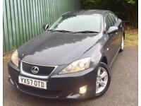 Lexus IS 220d 2.2TD (175)**ONLY 67,901 MILES,FDSH,6SPEED,IMPECCABLE!**