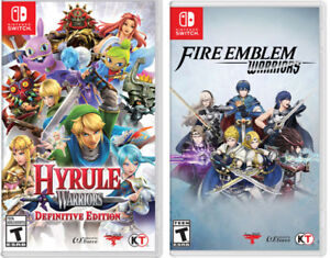 wanted switch games Hyrule Warriors or Fire Emblem Warriors