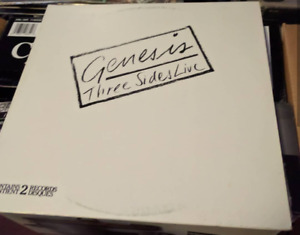 Genesis - Three Sides Live vinyl record lp