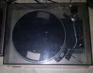 Two Technics sl23 turntables for parts