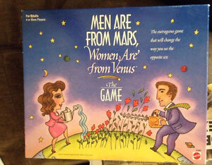 Men Are From Mars Women Are From Venus The Game London Ontario image 1
