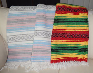 Colourful Mexican Blankets