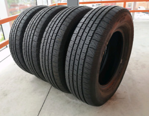 Set of four 215/70/15 Motomaster SE2 all season. 8/32nd tread