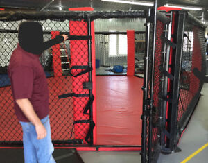 Free standing Hexagon MMA Cage 19 ft / Cage MMA 19 pieds