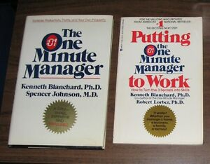 Lot of 5 Business Management Books - The One Minute Manager