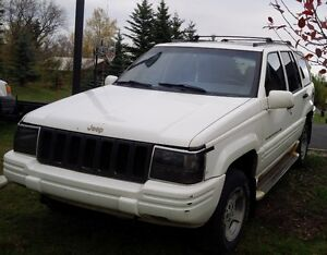 1997 Jeep Grand Cherokee 4L Limited SUV, Crossover