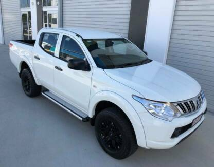 UP-DATE MQ SERIES 2015 AUTO 4X4 GLX TRITON DUAL CAB WITH LOW KMS Pinkenba Brisbane North East Preview