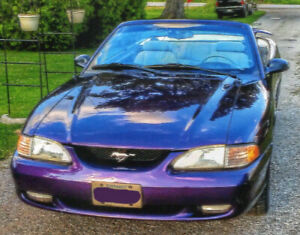 96 Ford Mustang Convertible