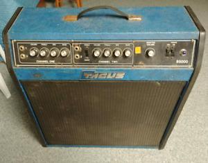 Vintage, rare Tagus amplifier for guitar