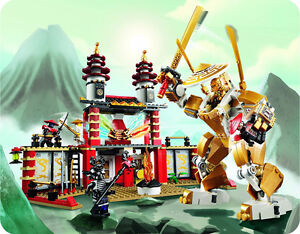 NINJAGO TEMPLE OF LIGHT