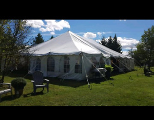40 x 60 white event tent - New Price!