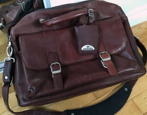 Leather Briefcase Samsonite