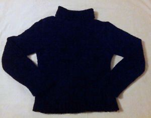Siblings girl's velour knit turtleneck sweater XL Like new